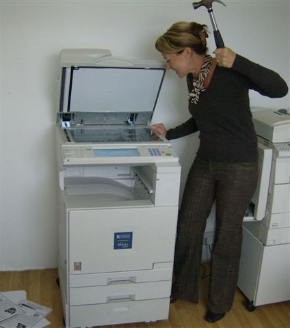 copy machine repairs